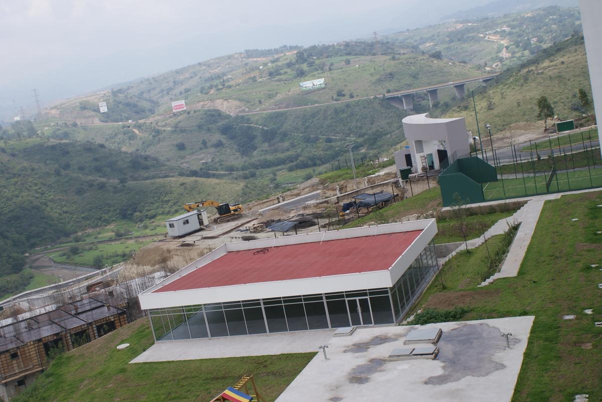 11 de 31: Vista a Presa Madín desde la recámara del departamento