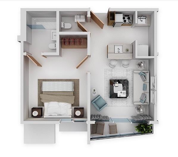 11 de 11: Venta Apartamento en Construcción La Esperilla Area Social