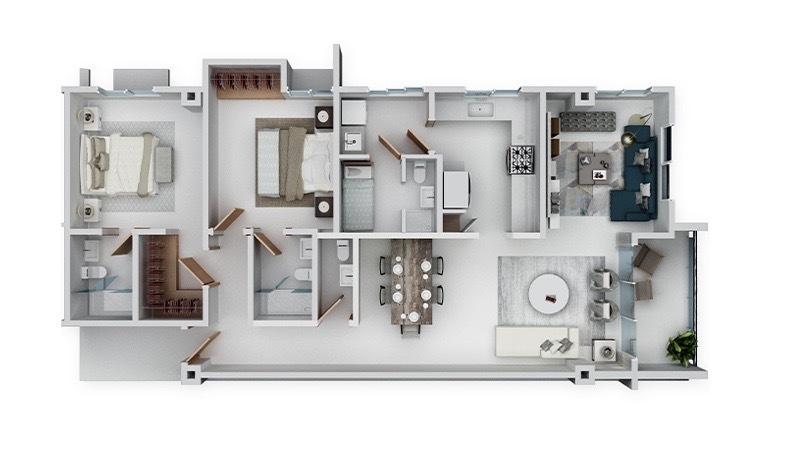 9 de 9: Venta Apartamento en Construcción La Esperial Area Social