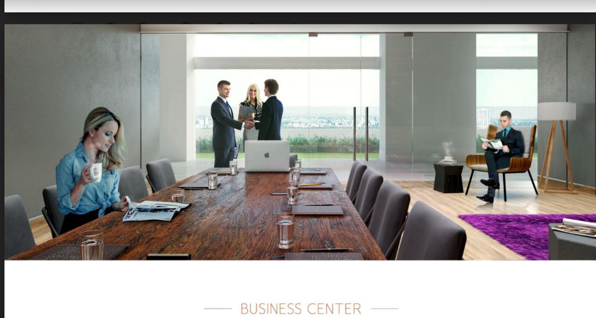 8 de 13: business center
