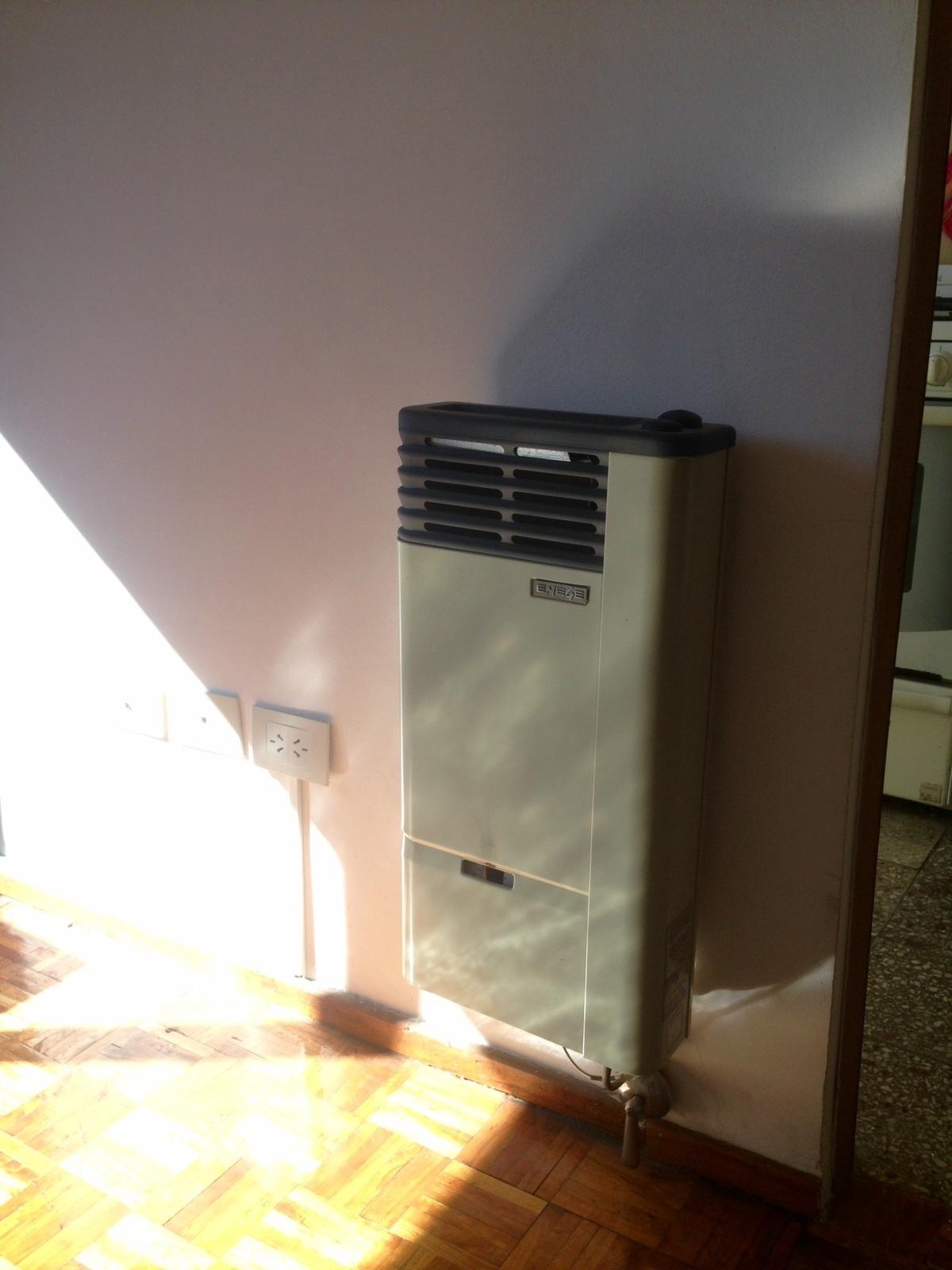 5 de 13: Calefactor sin tiro