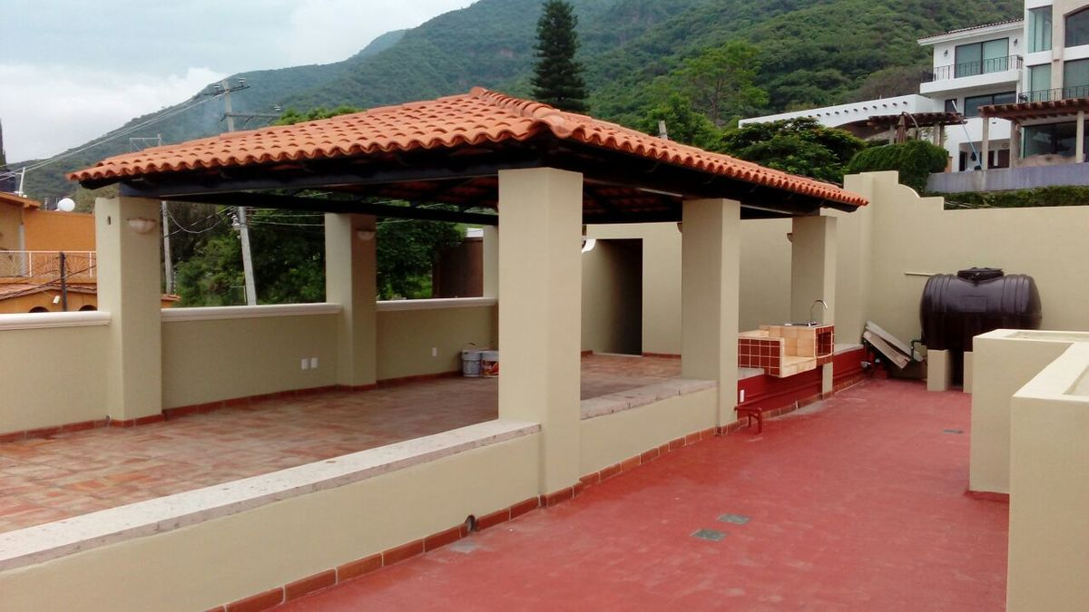 8 de 23: Asador e instalaciones para el Roofgarden