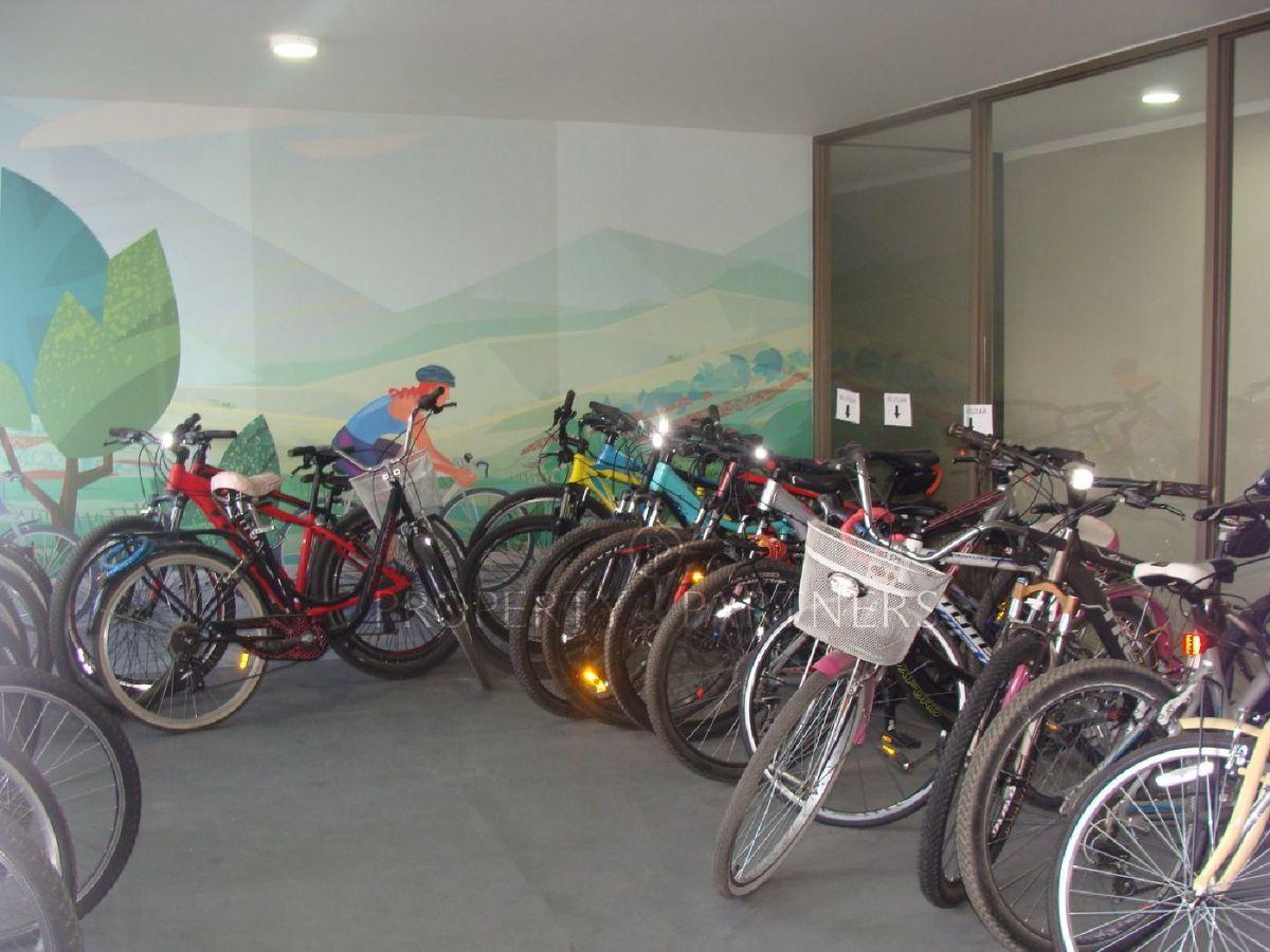 12 de 12: Zona de bicicletas