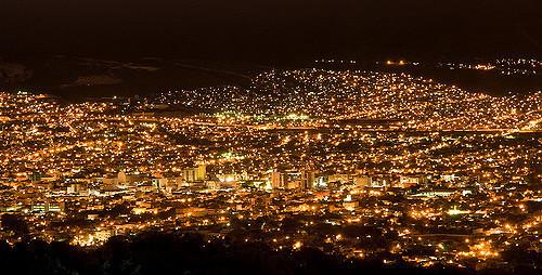 5 de 10: Espectacular vista nocturna de la ciudad de Tuxtla Gutierrez