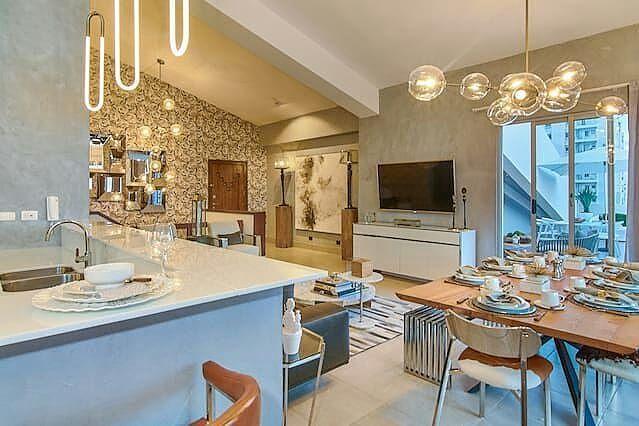 Moderno Y Elegante Penthouse Amueblado Con Piscina Gyn Y