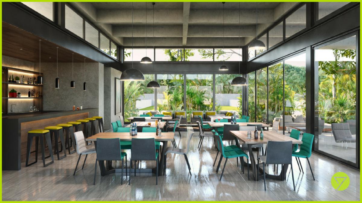 7 de 31: Cafetería