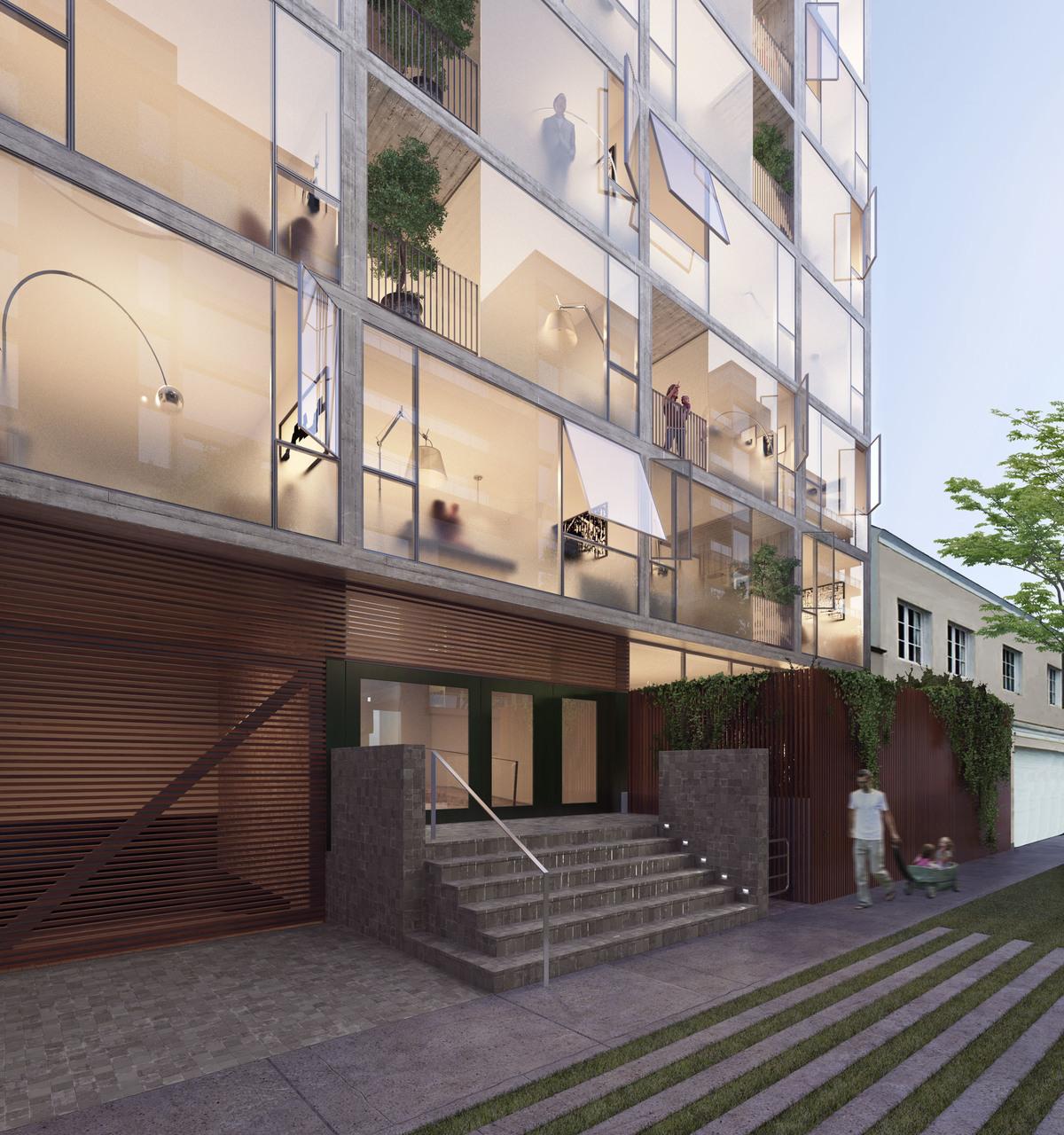 1 de 4: Exterior del edificio.