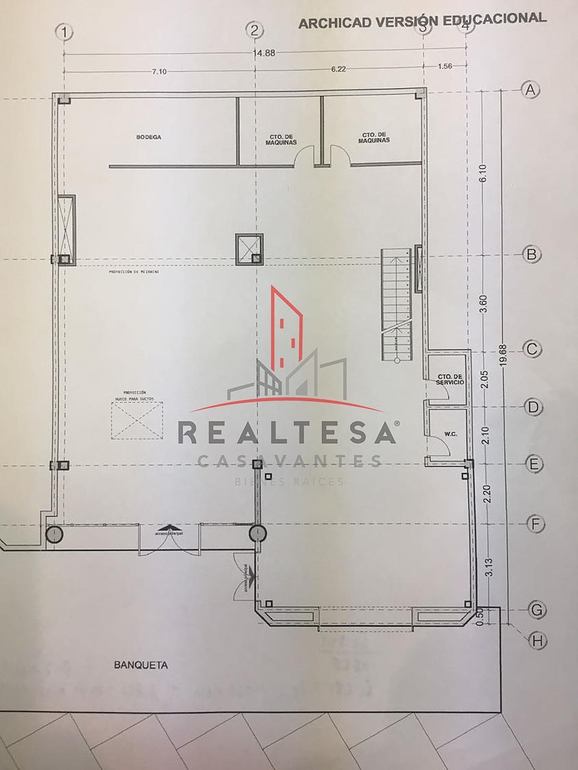 18 de 18: Plano arquitectónico