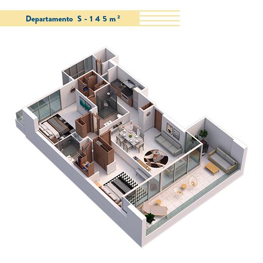 10 de 17: Modelo 145 m2