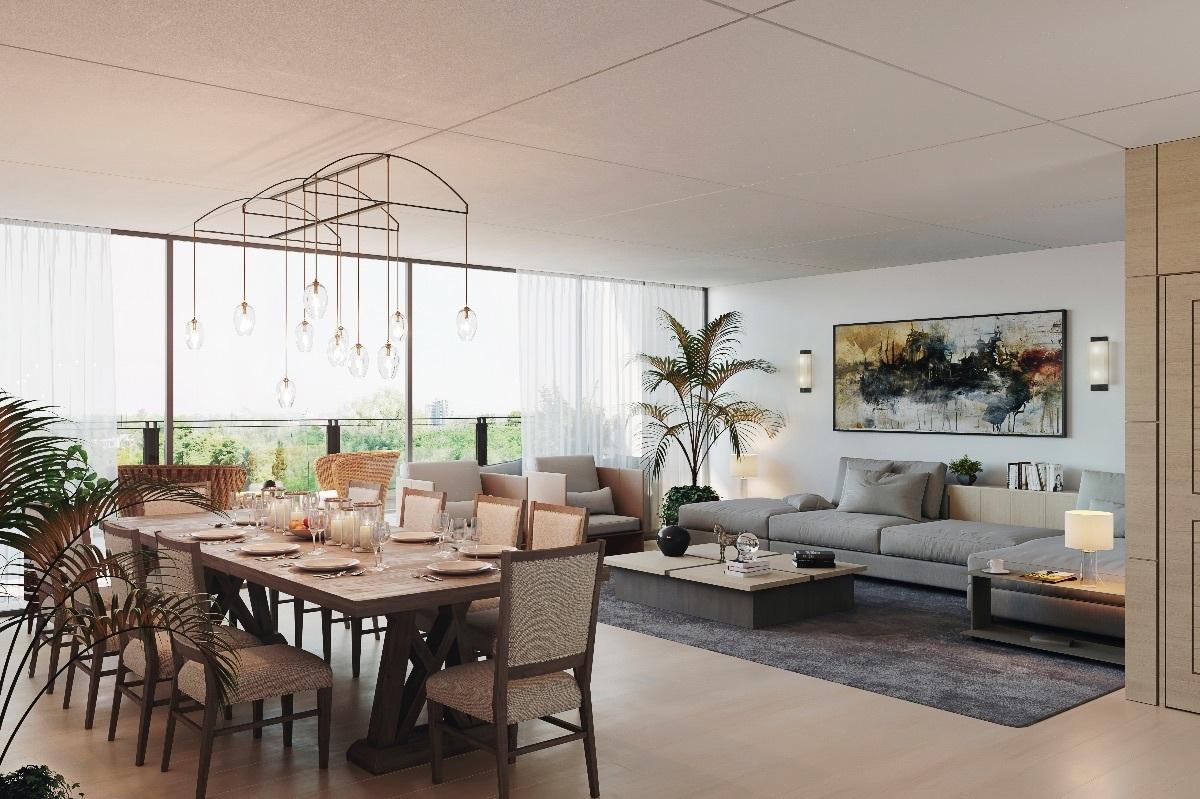 2 de 3: Espacios interiores amplios e iluminados
