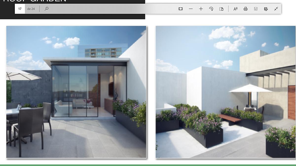 7 de 7: Roof-garden
