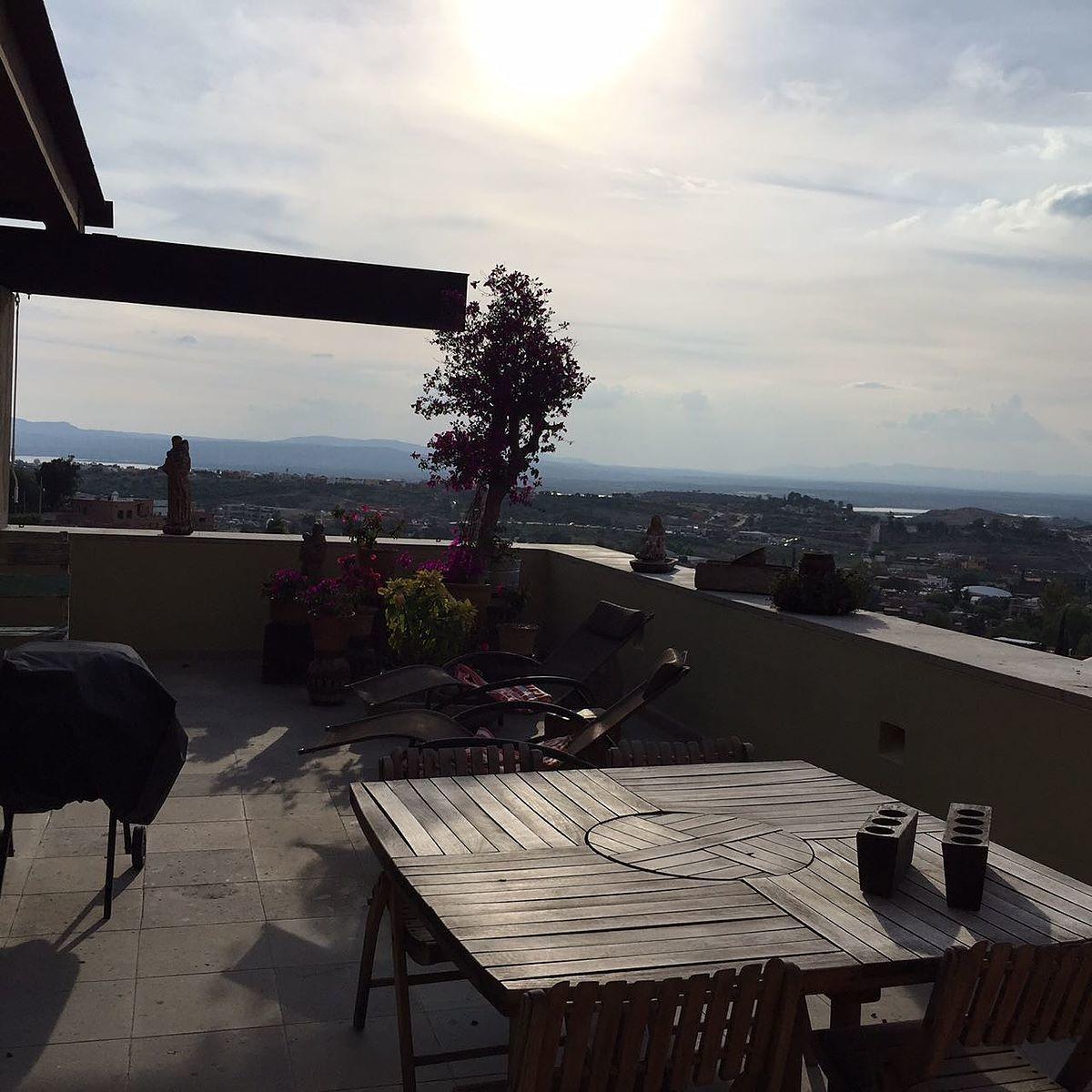 10 de 16: Vista desde la terraza