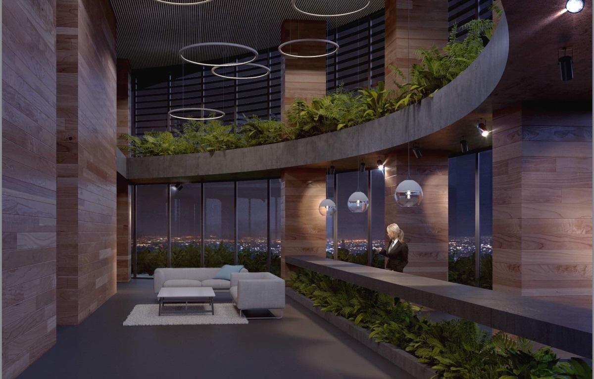 3 de 16: moderno lobby