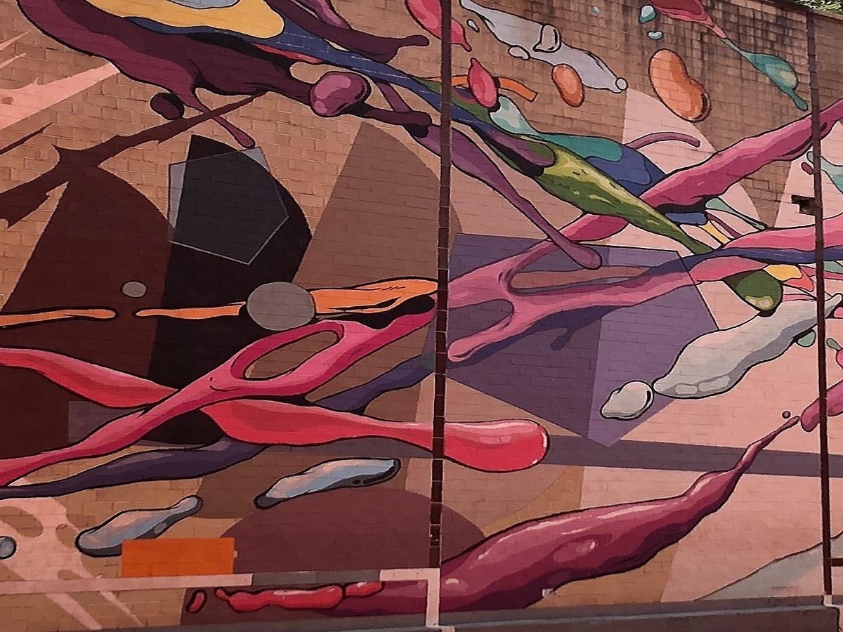 19 de 26: Hermoso mural restaurado