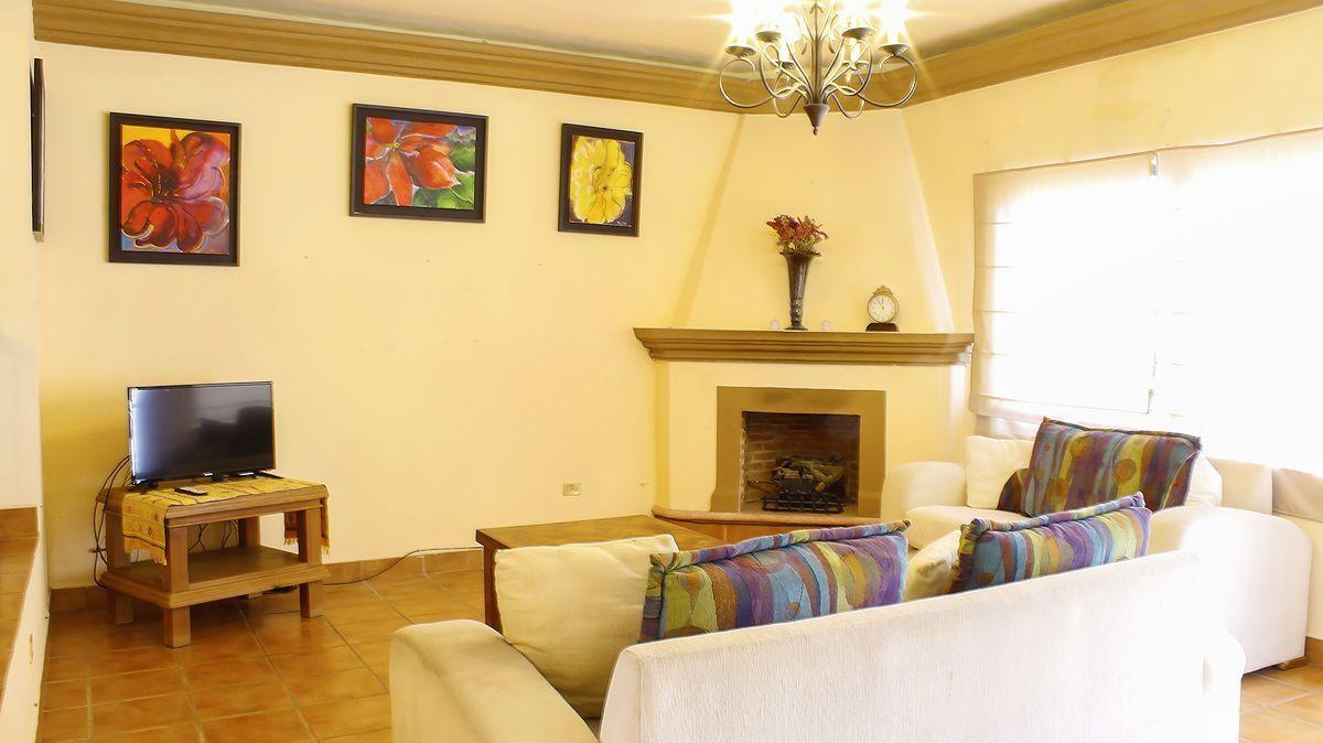 3 of 11: Sala con chimenea