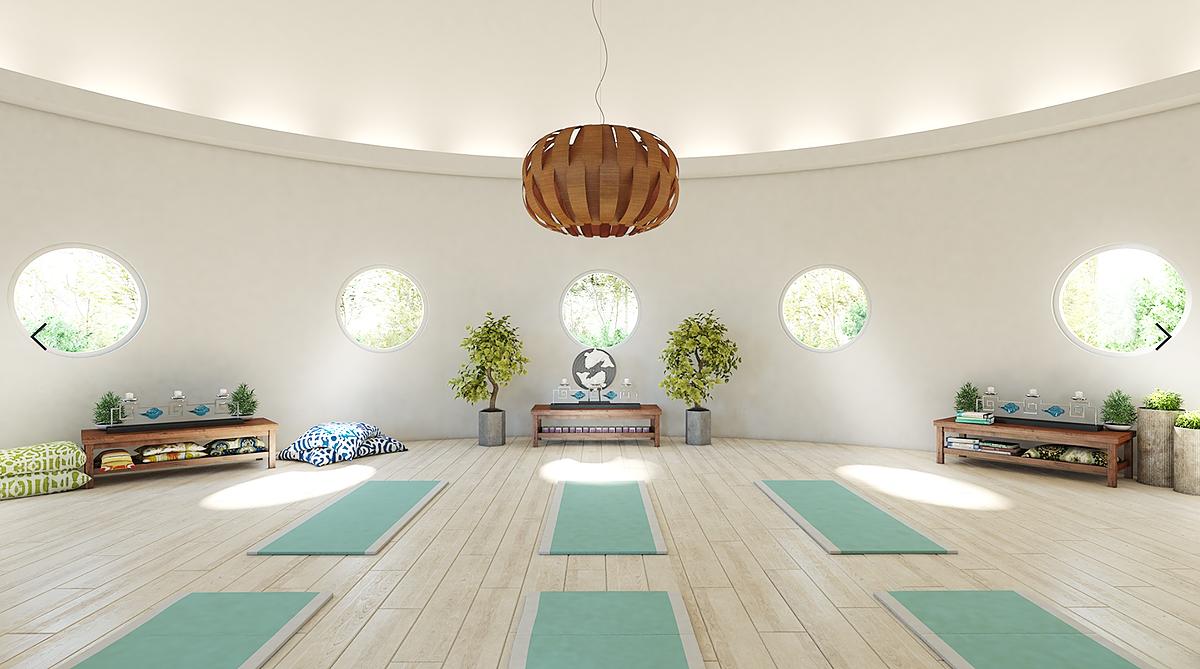 13 de 14: Áreas de relajación meditación
