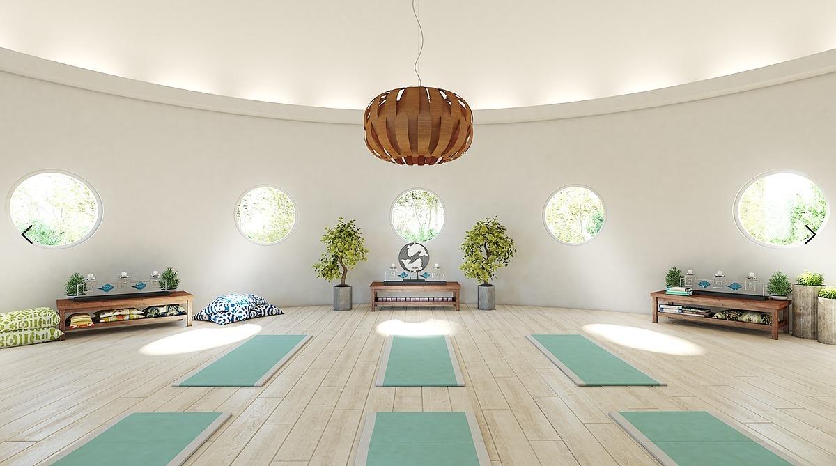 12 de 14: Áreas de relajación y meditación