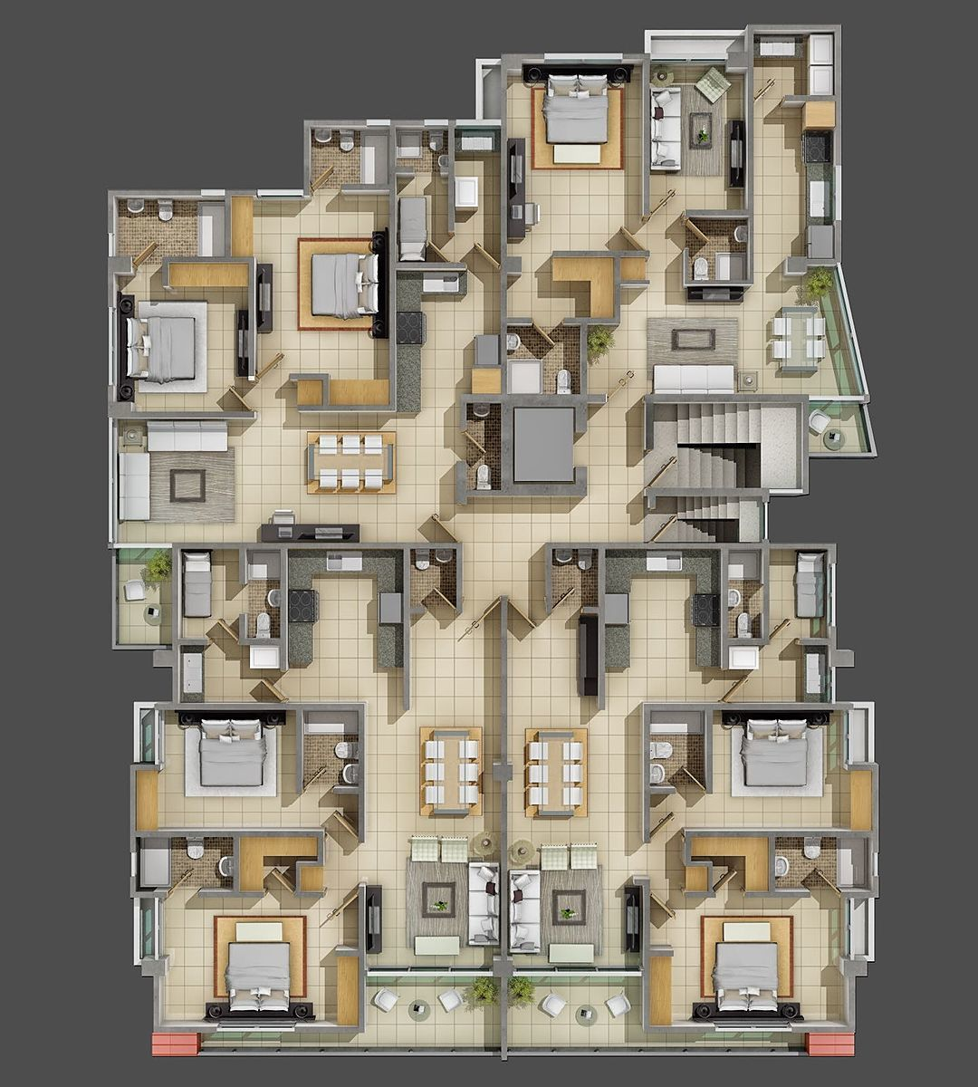 3 de 5: Plano Dimensionado