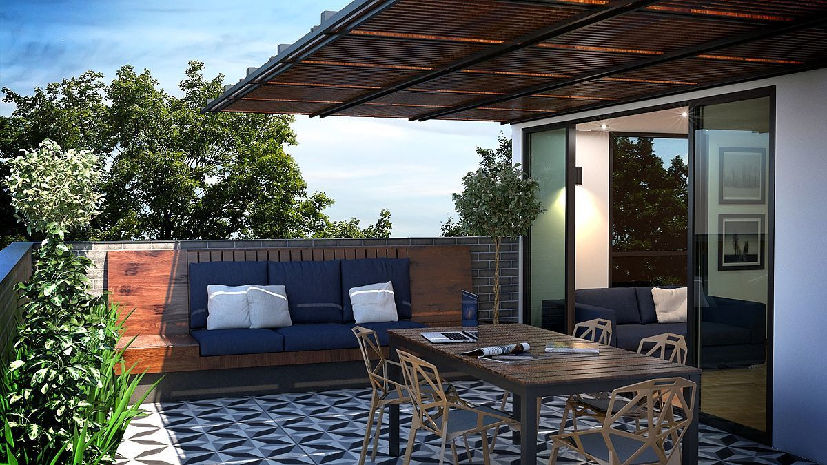 6 de 7: Terraza y/o Roof Garden