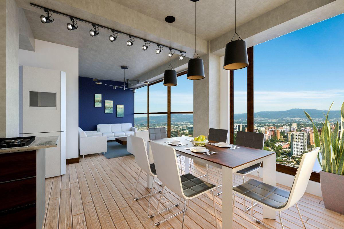 8 de 27: Vista del P.H  y techo de sala comedor  se entregara así.