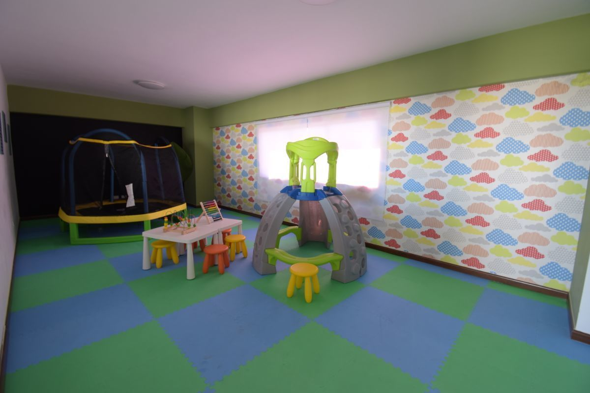 13 de 15: áreas sociales para niños