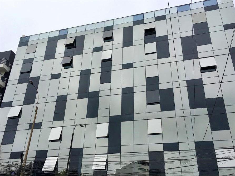10 de 15: Moderna fachada de edificio