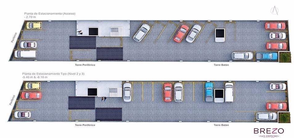 18 de 21: Planta Estacionamiento