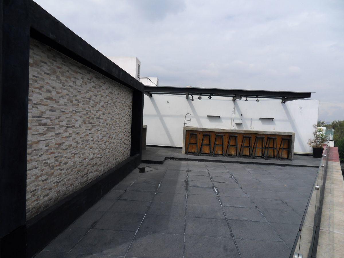 13 de 28: Roof garden privado