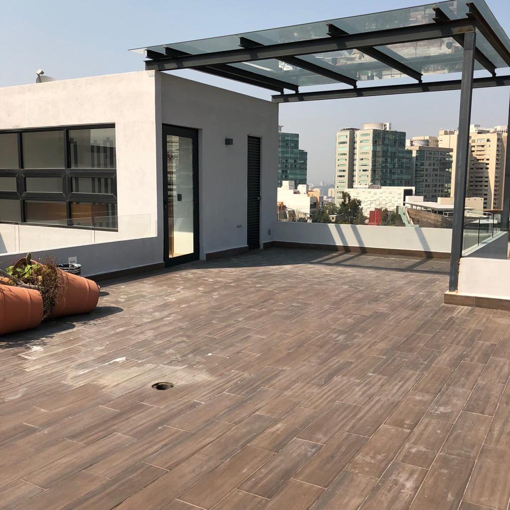 3 de 17: Roof garden privado
