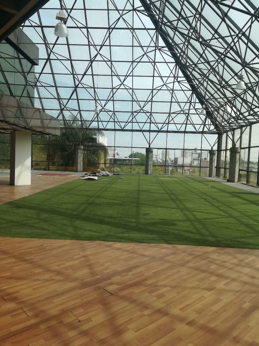 4 de 10: Area de oficinas con Vidrio Templado
