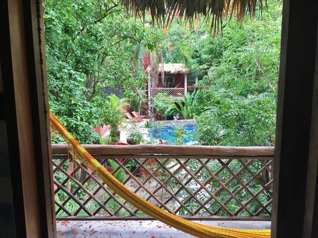 23 de 31: Vista del balcón de huéspedes
