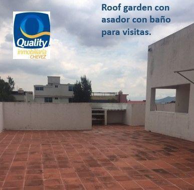 12 de 15: Roof garden.