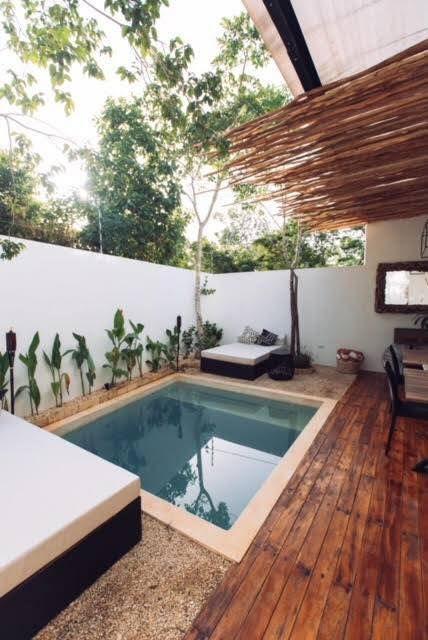 5 de 6: La piscina viene incluida. Fotos de casa muestra