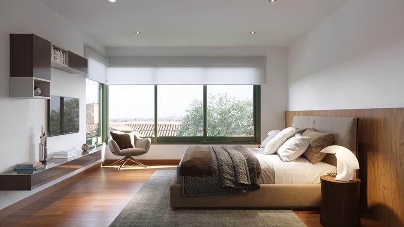 11 de 16: Imagen referencial del dormitorio secundario