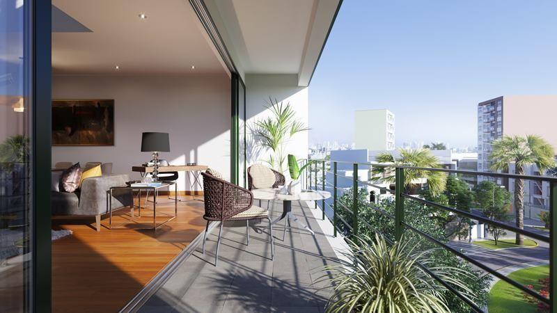 2 de 17: Imagen terraza vista a parque planta típica