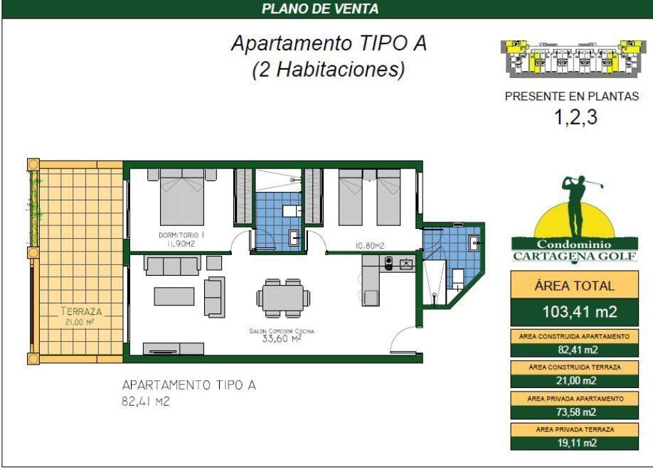 9 de 50: Apartamento tipo A