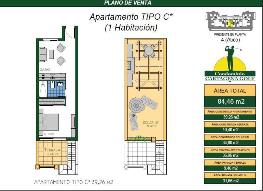 12 de 50: Apartamento tipo C*