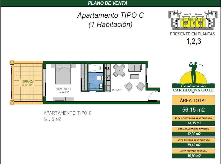 11 de 50: Apartamento tipo C