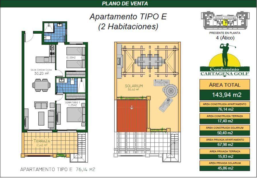14 de 50: Apartamento tipo E