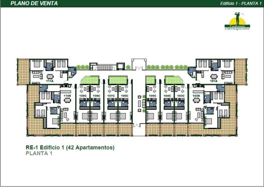 15 de 50: Edificio 1 Planta 1