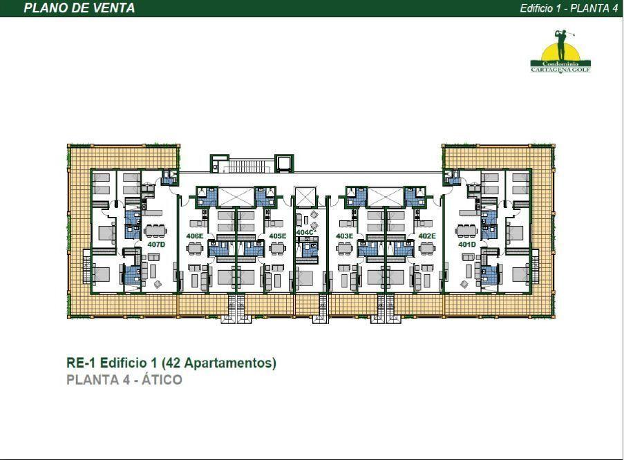 18 de 50: Edificio 1 Planta 4