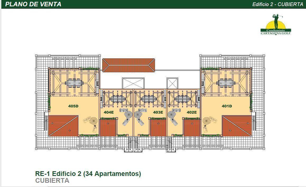 24 de 50: Edificio 2 Planta Solarium