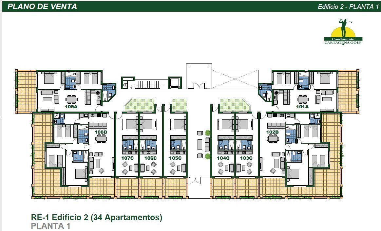 20 de 50: Edificio 2 Planta 1
