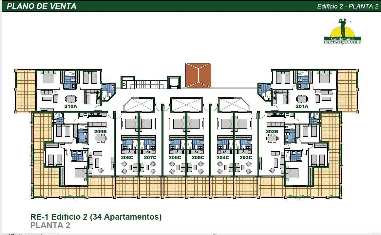21 de 50: Edificio 2 Planta 2