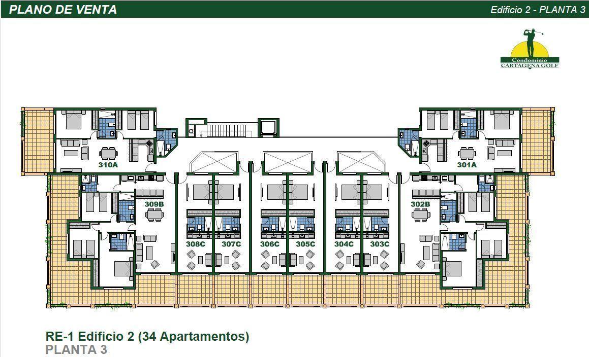 22 de 50: Edificio 2 Planta 3
