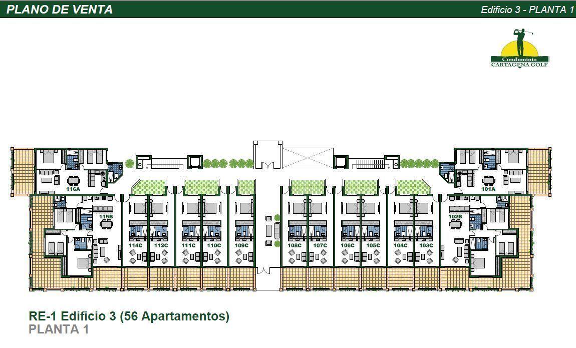 25 de 50: Edificio 3 Planta 1