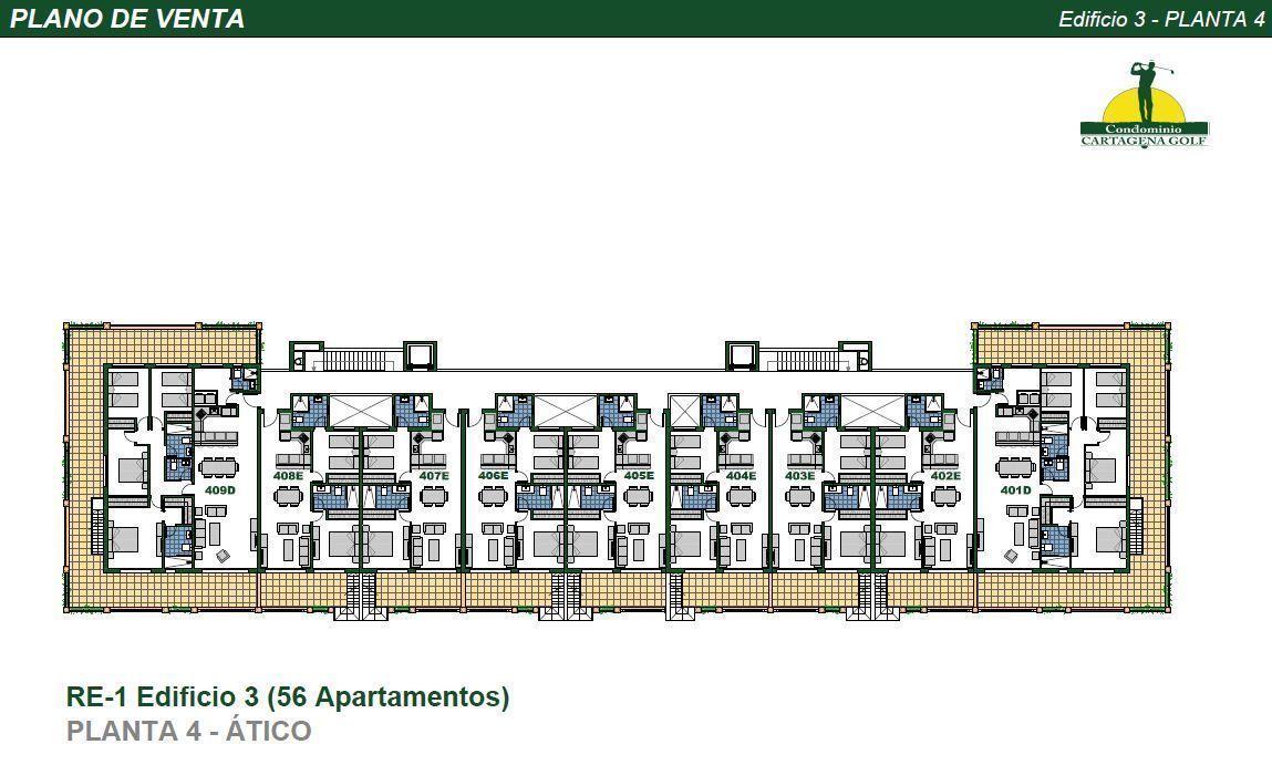 28 de 50: Edificio 3 Planta 4
