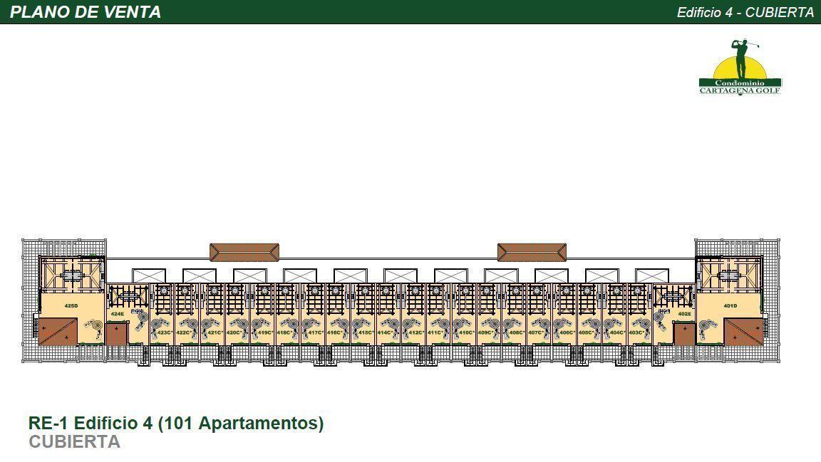 35 de 50: Edificio 4 Planta Solarium