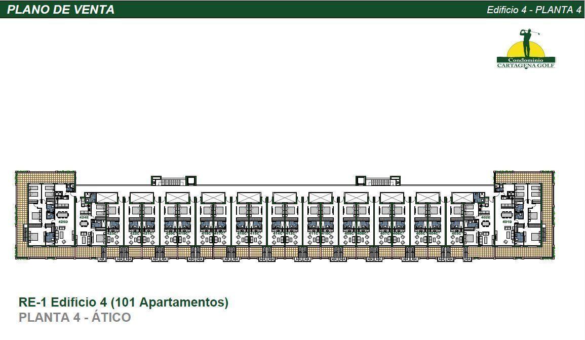 34 de 50: Edificio 4 Planta 4