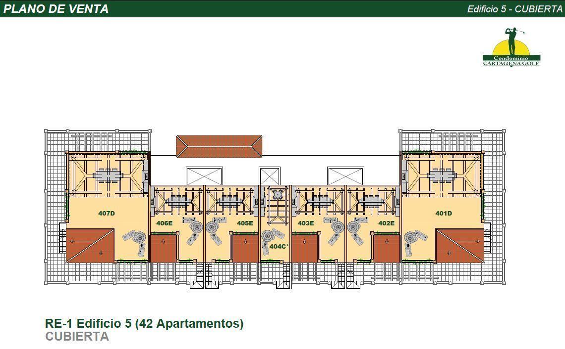 41 de 50: Edificio 5 Planta Solarium